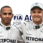 Hamilton and Rosberg